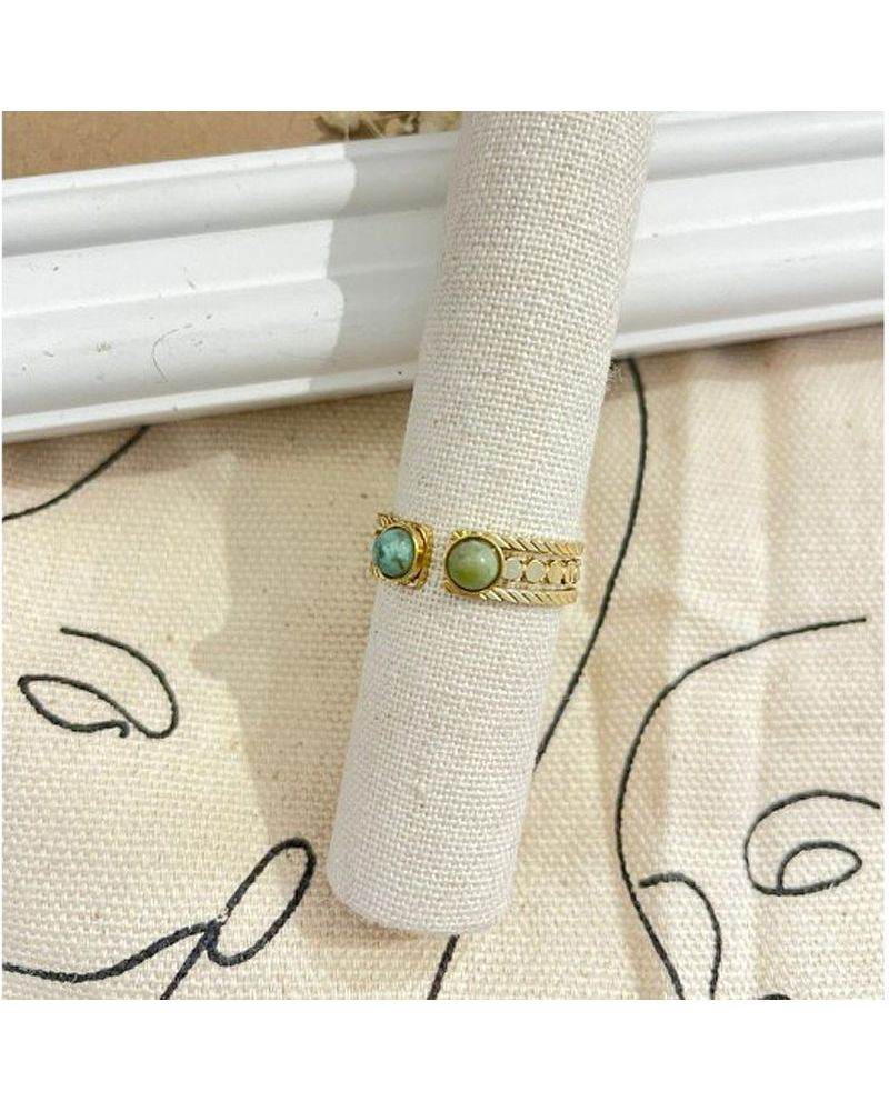 bague turquoise africaine