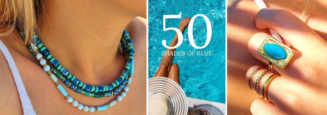 Bleu Lagon - Bijoux Pierres Bleues