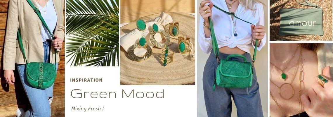 green attitude le vert couleur mode de l'année