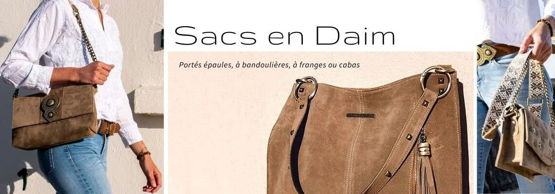 Sac en Daim | Zosha Collection