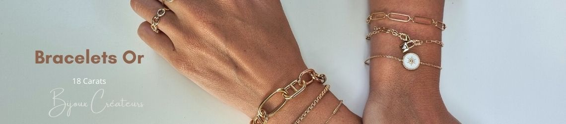 Bracelet Or | Créations dans l'air du temps | Zosha Collection