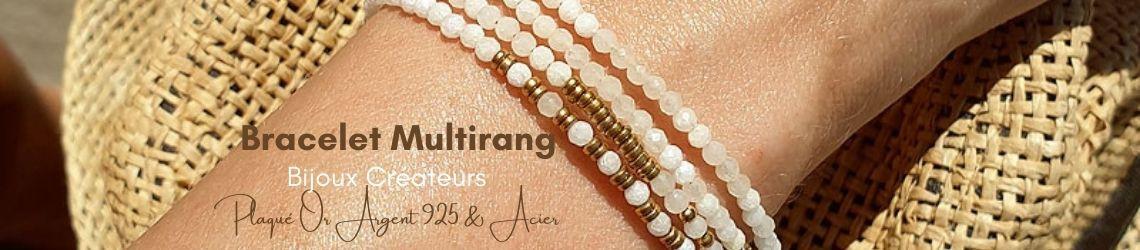 Bracelet Multirang | Bjoux Fantaisie Créateurs | Zosha Collection