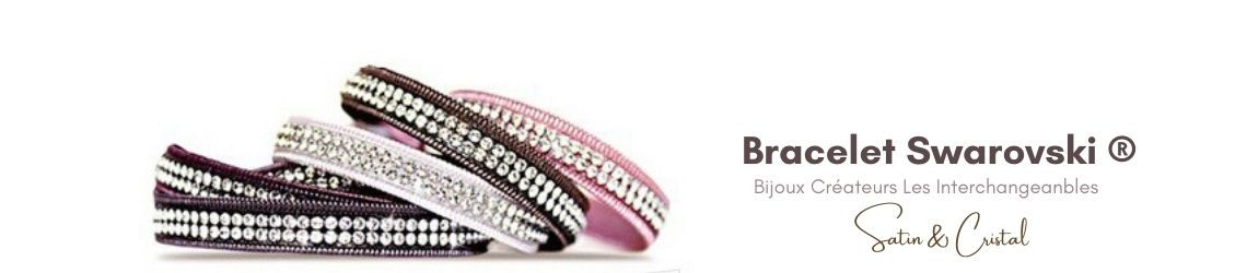 Bracelet Swarovski - Les Interchangeables Paris | Zosha Collection