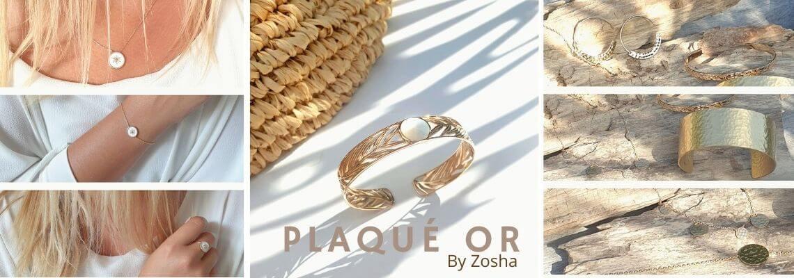 Bijoux Plaqué Or - Bijoux Fantaisie de Créateurs - Plaqué Or by Zosha