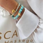 💙#amazonite #bracelet #braceletpierre #pierresnaturelles #hossegor #bijouxaddict #stonejewelry #bleu #turquoise #bijoufemme #zoshacollection