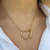 Love is all you need ! #milemila #milemilaparis #collier #collierdujour #collierdore #love #coeur #fetedesmeres #bijouxlovers #fashionstyle #instajewel #hossegor #zoshacollection