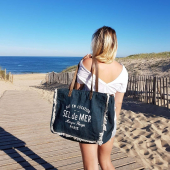 Et vous, vous êtes plutôt Mer ou Océan 😎? #cabasplage #beachbag #beachbags #sacplage #hossegor #seignosse #landes #beachismyhappyplace #beachstyle #sacdeplage #zoshacollection
